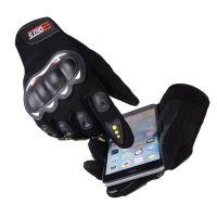 Motorcycle Gloves Black Large