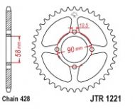 Honda Ace Back Sprocket