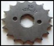 Big Boy, Bashan, Gomoto 17 Teeth Front Sprocket